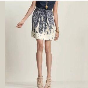 Cabi #401 Bella Leopard Animal Print Skirt size M